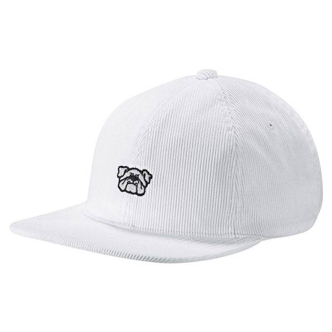 Czapka Adidas Originals BULL DOG 6PANL biała