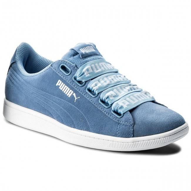 Sneakersy Puma Vikky Ribbon Bold 365312 03 niebieski