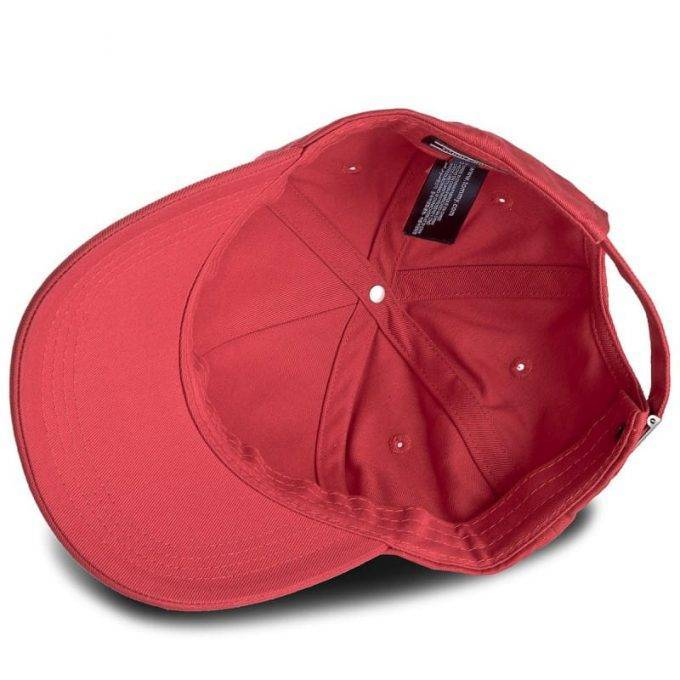 Czapka Tommy Hilfiger CLASSIC BB CAP czerwona