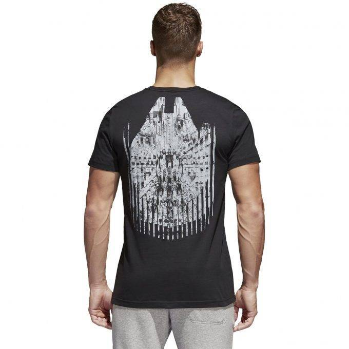 Koszulka Adidas Star Wars czarna