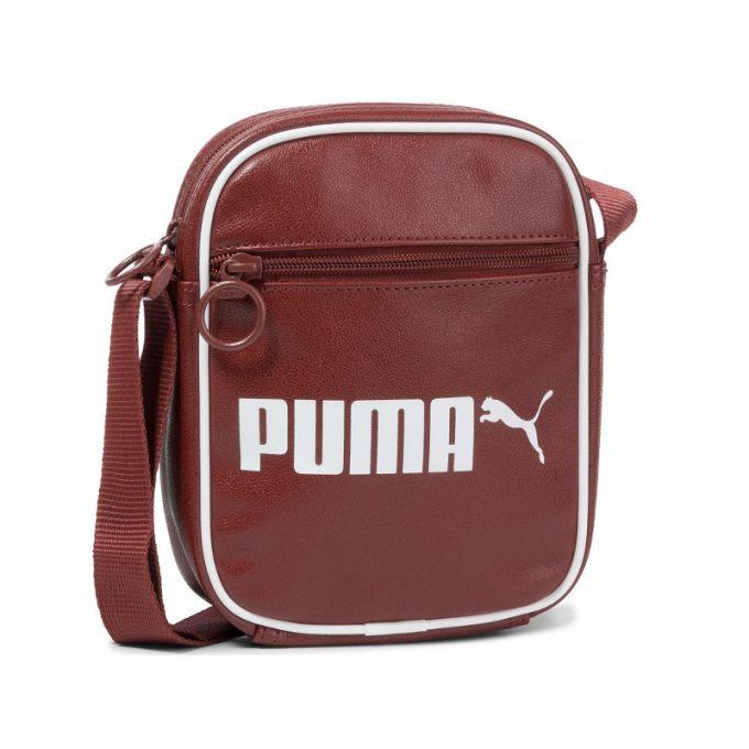 Saszetka Puma Originals Campus Portable Retro Fired Bric 076641 03 bordowa