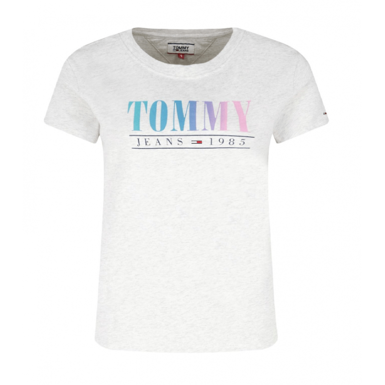 T-shirt damski Tommy Hilfiger TJW Jeans Summer Multicolor DW0DW06699