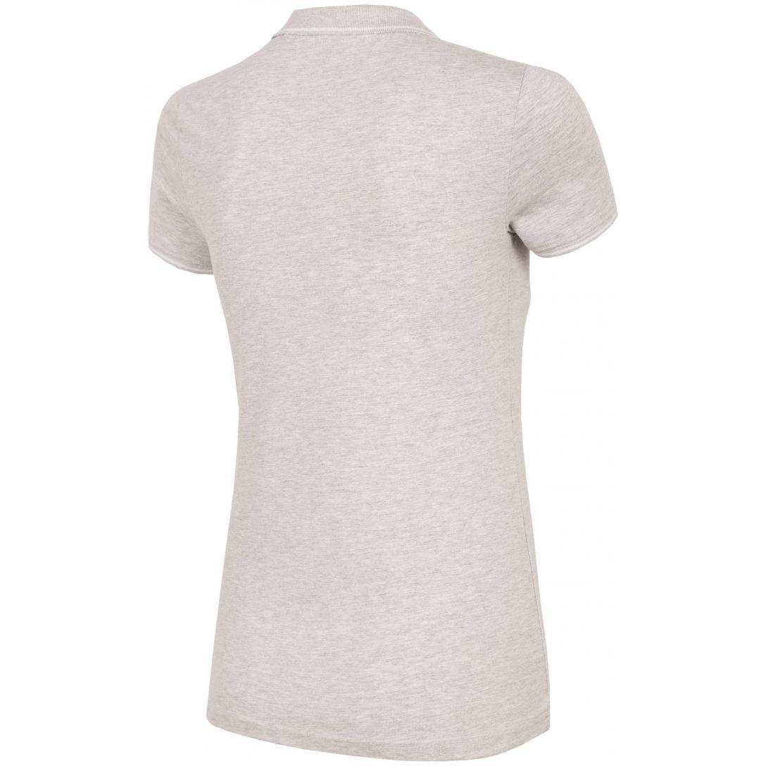 Koszulka damska 4F H4L19-TSD013 27M jasny szary