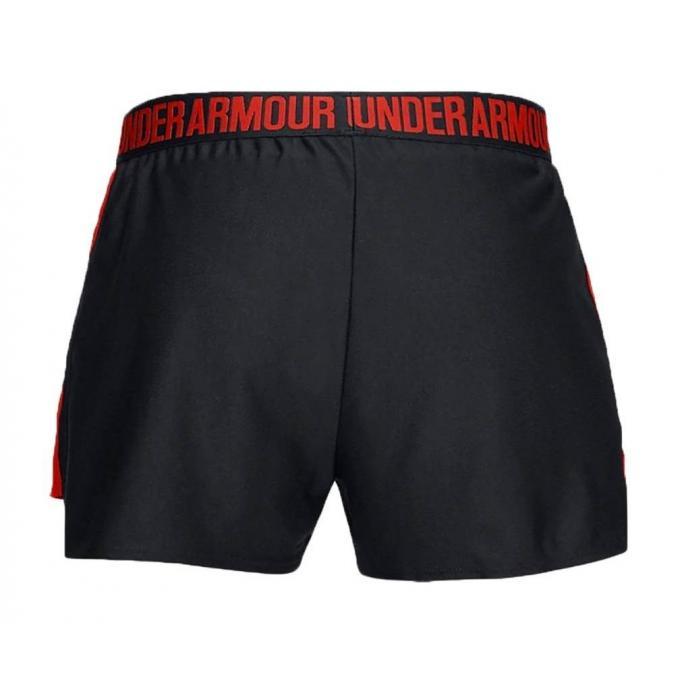 Damskie spodenki Under Armour czarno-czerwone