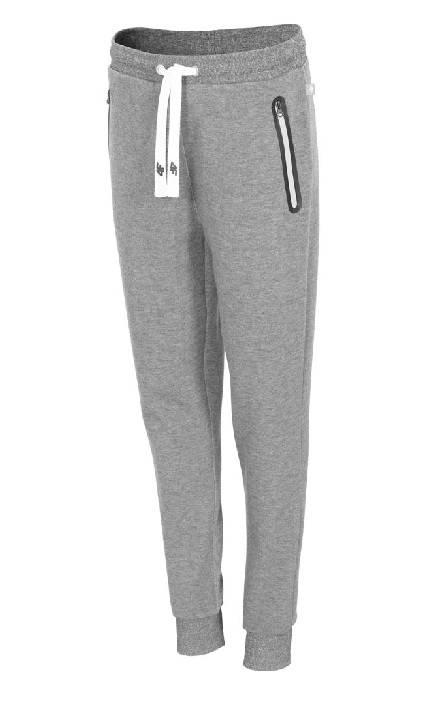Damskie spodnie dresowe 4f H4L19-SPDD002 27M jasny szary