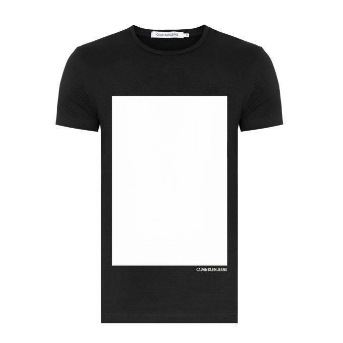 T-Shirt męski Calvin Klein Jeans J30J309626 099 czarny