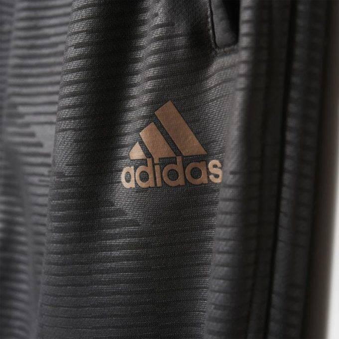 Spodnie chłopięce Adidas BQ1687 YB DIS KN PT szare