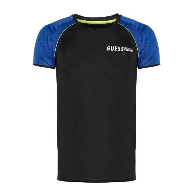 T-Shirt męski Guess czarny
