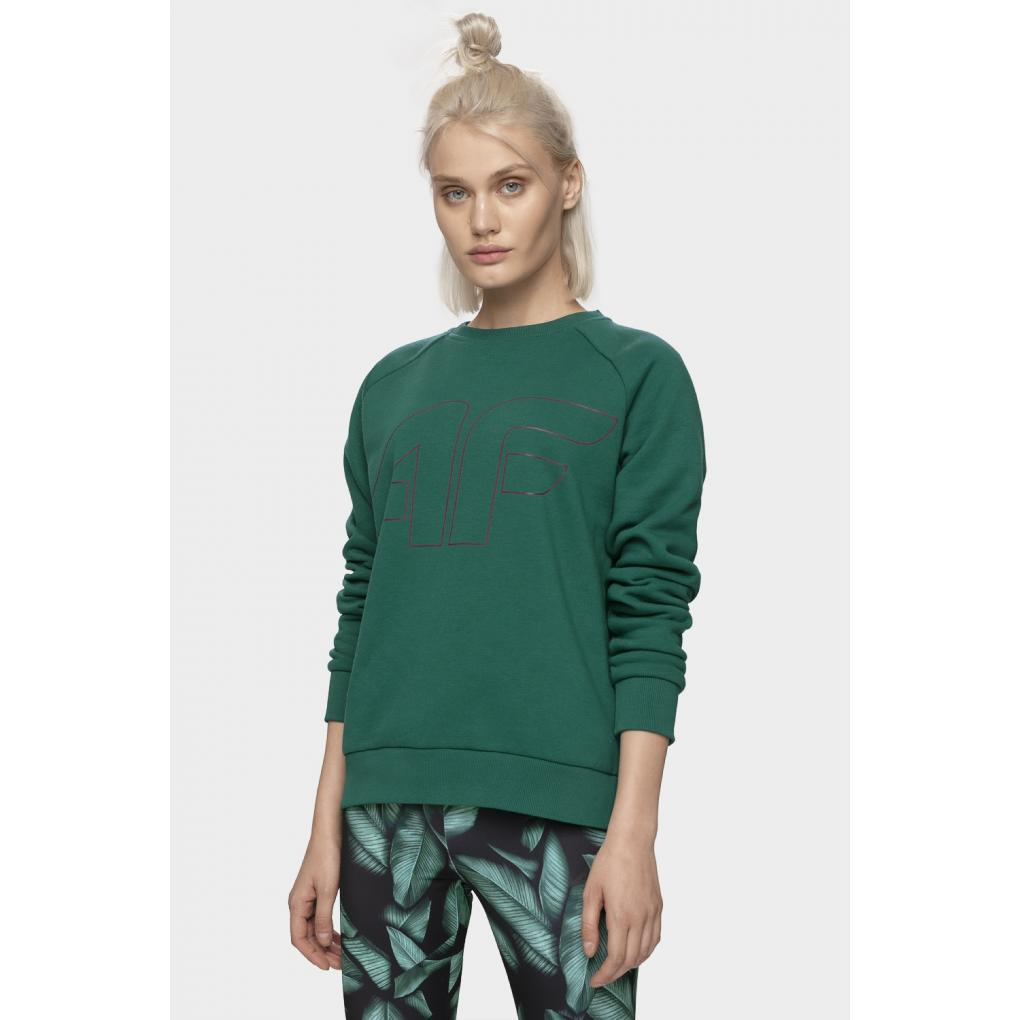 Bluza damska 4f H4Z19-BLD001-40S zielona