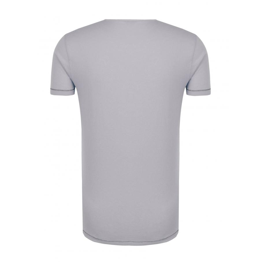 Męskie t-Shirt Pepe Jeans London PM503614 MADOX szary