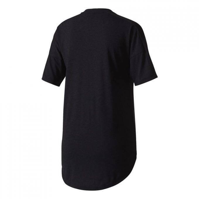 Koszulka damska Adidas czarny melanż
