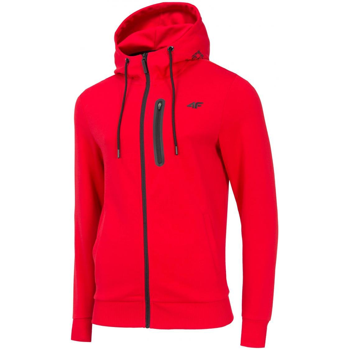 Bluza męska 4F H4Z19-BLM076 62S czerwona