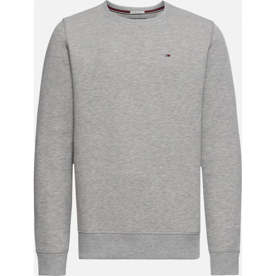 Bluza męska Tommy Hilfinger Jeans DM0DM04399 szara