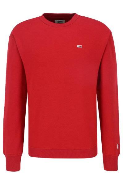 Męska bluza Tommy Jeans  DM0DM04469 czerwona