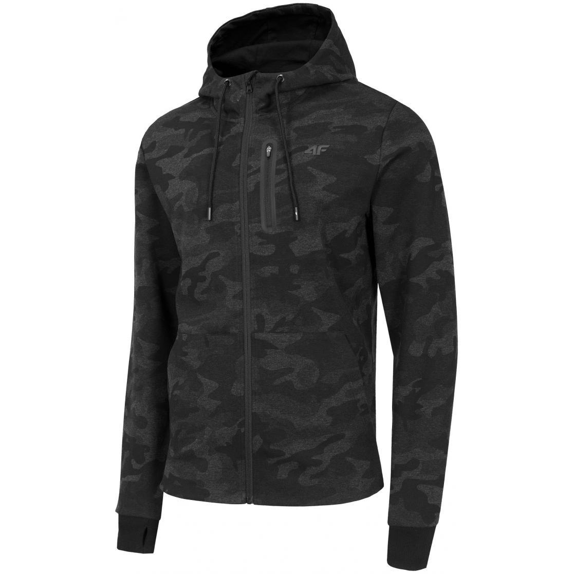 Bluza męska 4F H4Z19-BLM072 20A czarna