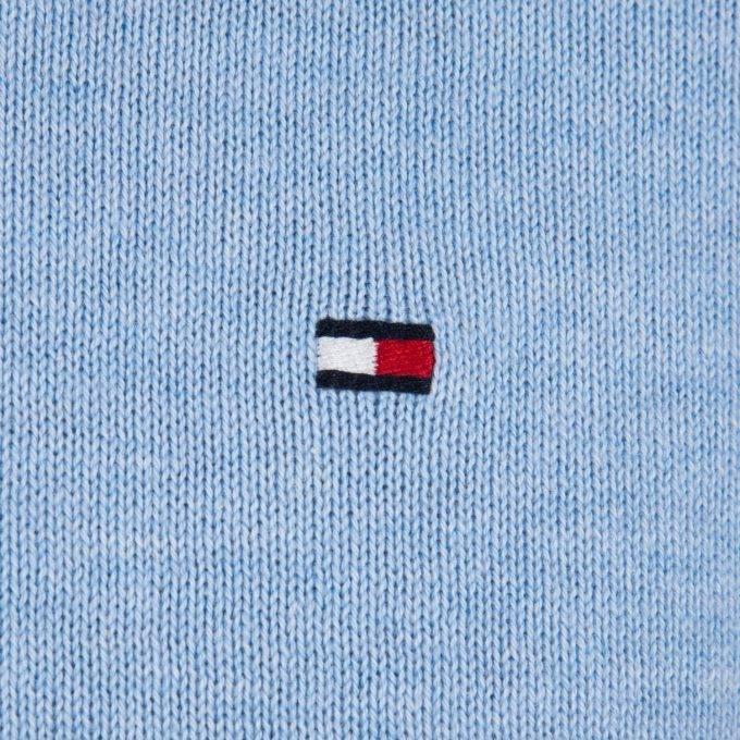 Sweter męski Tommy Hilfiger MW0MW07858 błękitny