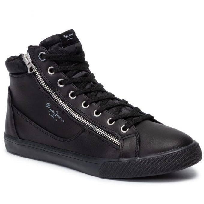 Męskie sneakersy Pepe Jeans  PJMPMS30589 999 czarne