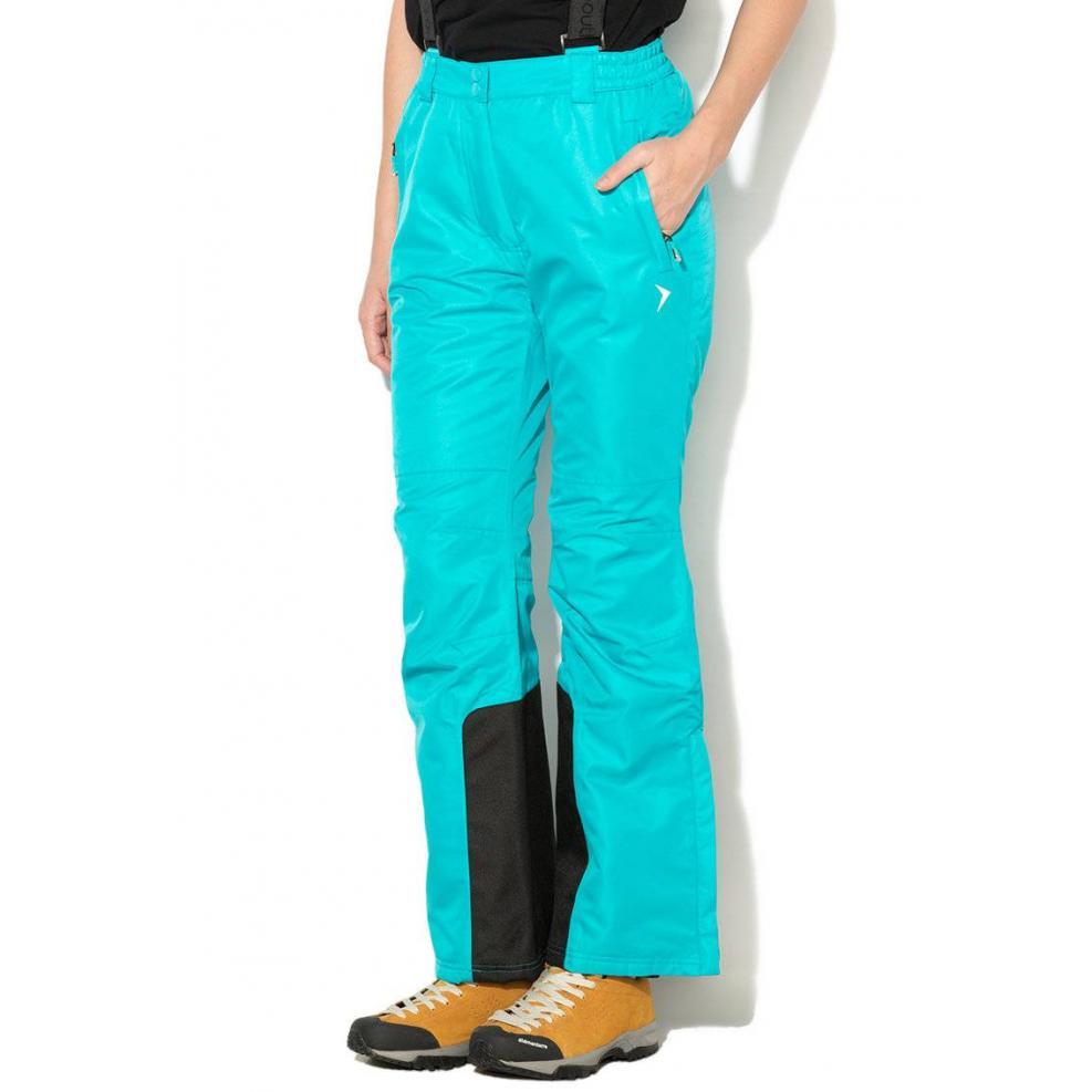 Damskie Spodnie Narciarskie Outhorn  turkusowe