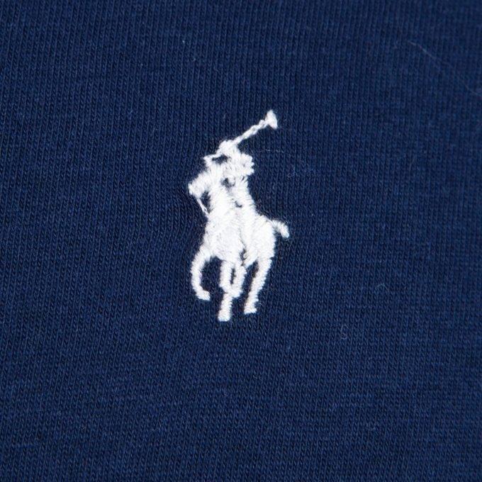 Męski T-shirt Ralph Lauren granatowy
