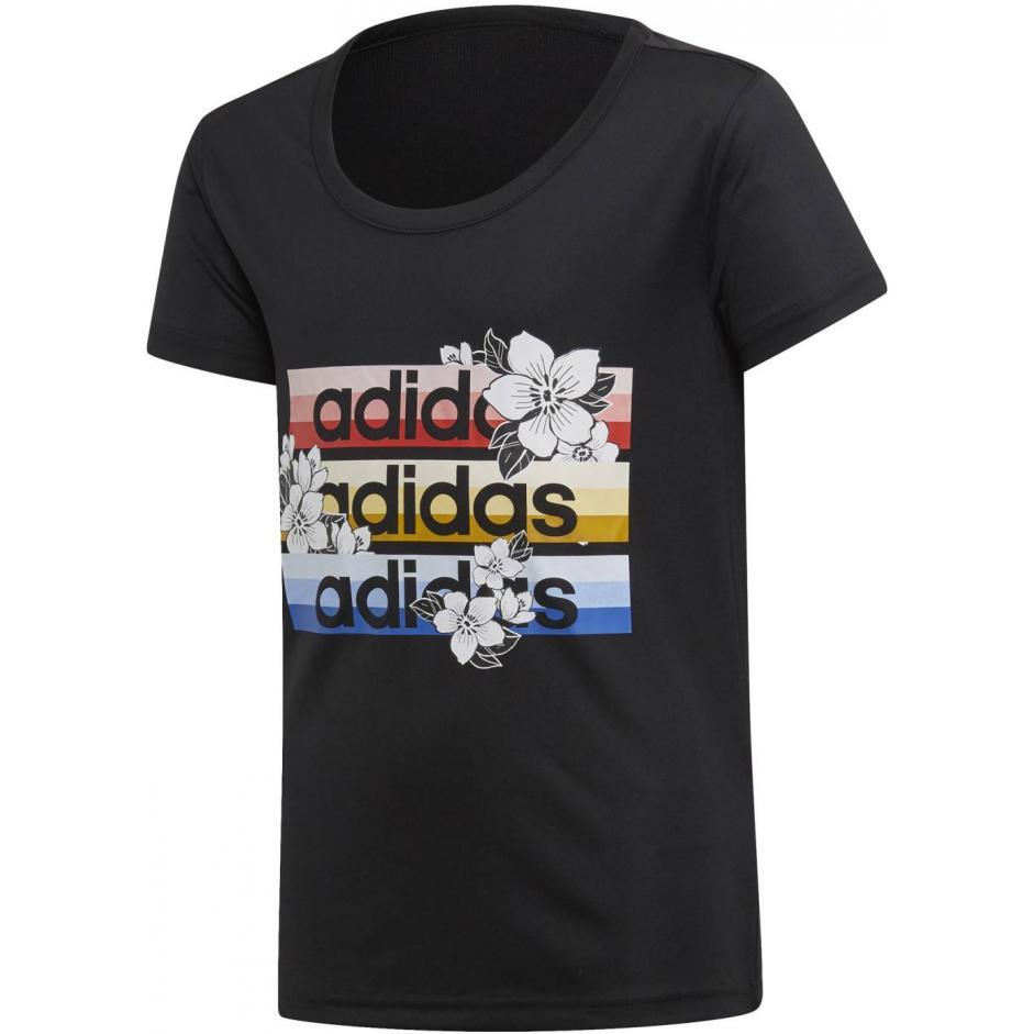 Dziecięcy T-shirt Adidas czarny