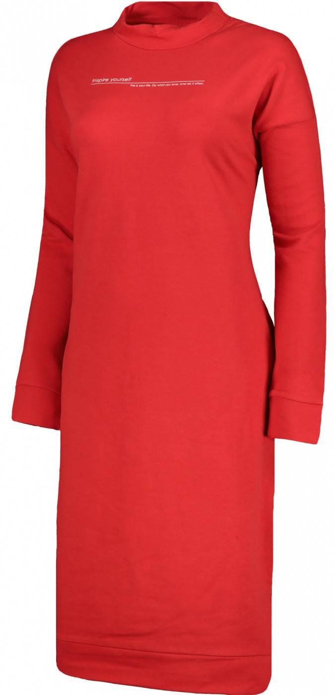 Sukienka damska Outhorn czerwona