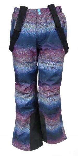 Damskie Spodnie Narciarskie Outhorn multikolor
