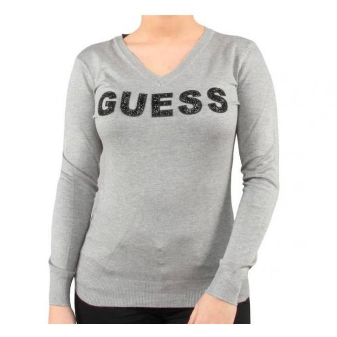 Damski sweter GUESS szary