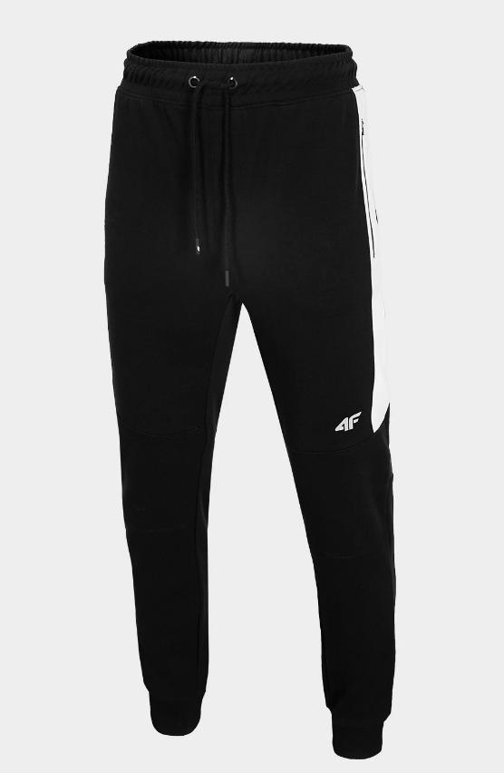 Męskie spodnie dresowe 4F czarne
