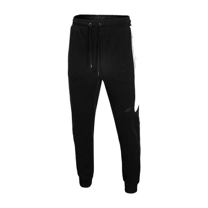 Męskie spodnie dresowe 4F H4L20-SPMD002 20S czarne