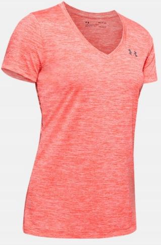 Damski T-shirt Under Armour pomarańczowy