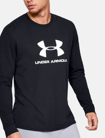 Męski longsleeve Under Armour czarna