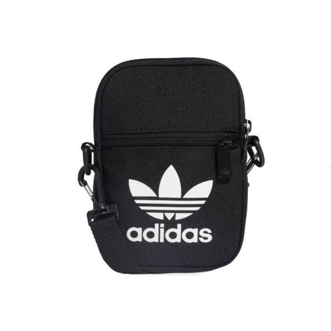 Saszetka Adidas czarna TREFOIL FESTIVAL BAG EI 7411