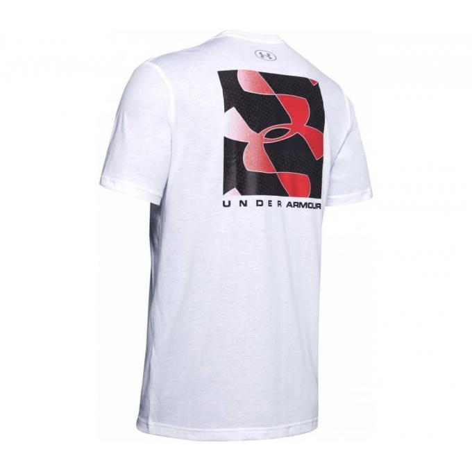 Męski T-Shirt Under Armour biały