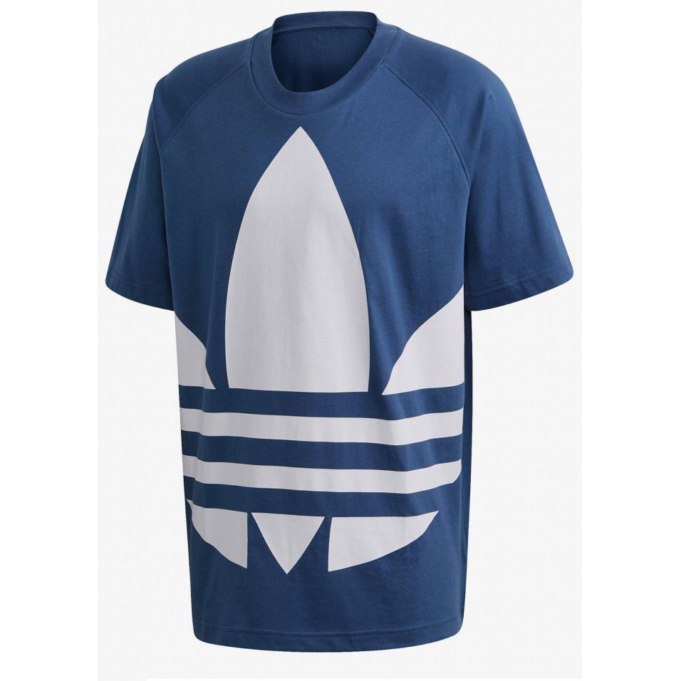 T-shirt męski adidas niebieski