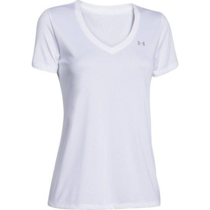 Damski T-shirt Under Armour biały
