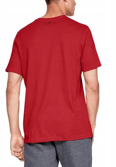 Męski T-Shirt Under Armour czerwony