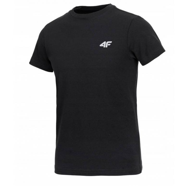 Chłopięca koszulka 4F czarna