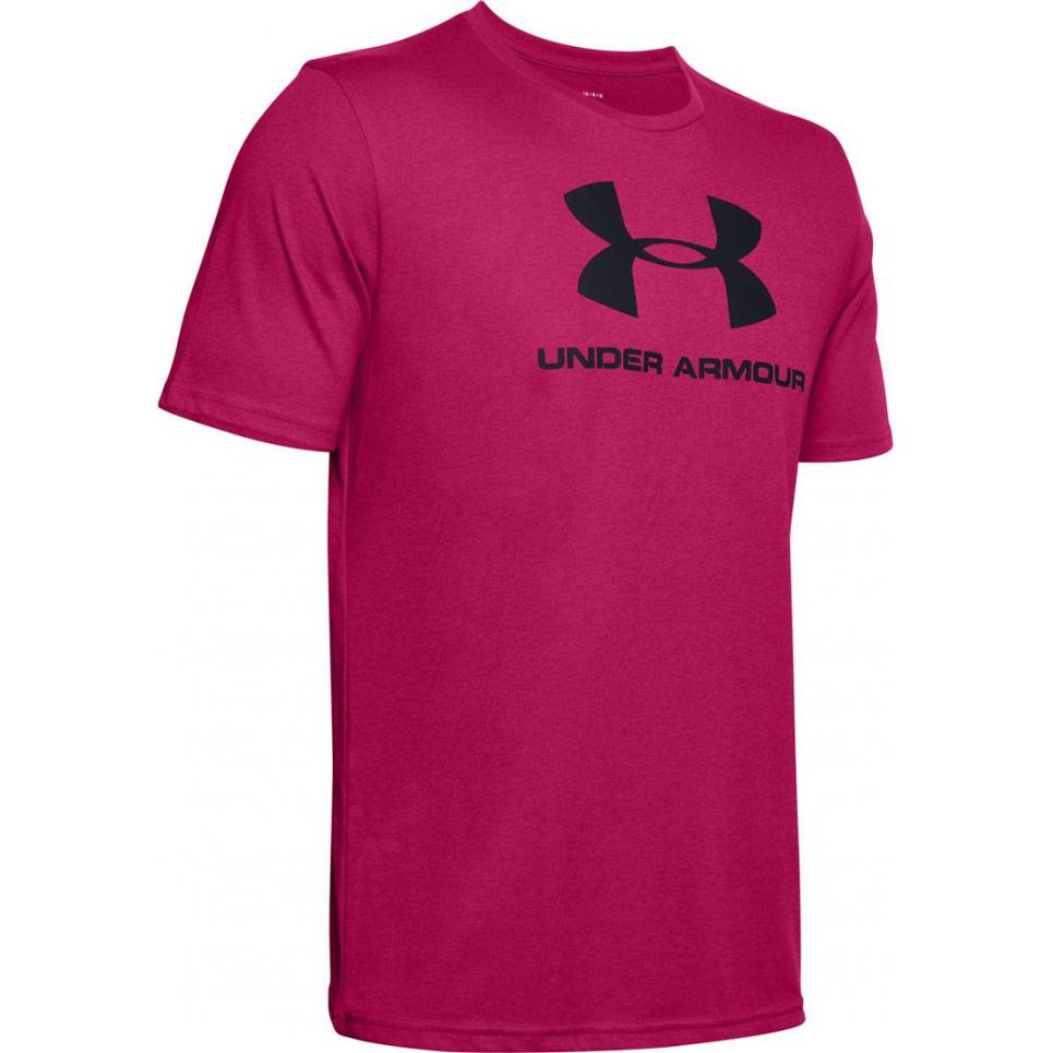 Męski T-Shirt Under Armour różowy