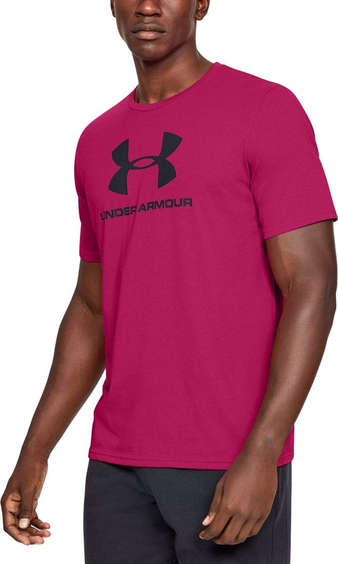 Męski T-Shirt Under Armour różowy