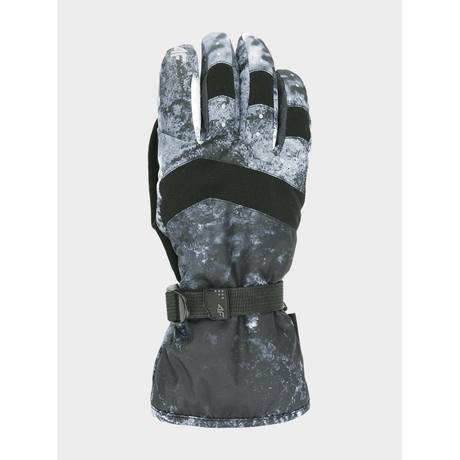 Męskie rękawice narciarskie 4F szare