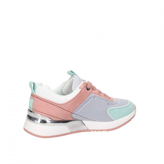Sneakersy Damskie GUESS błękitno – różowe
