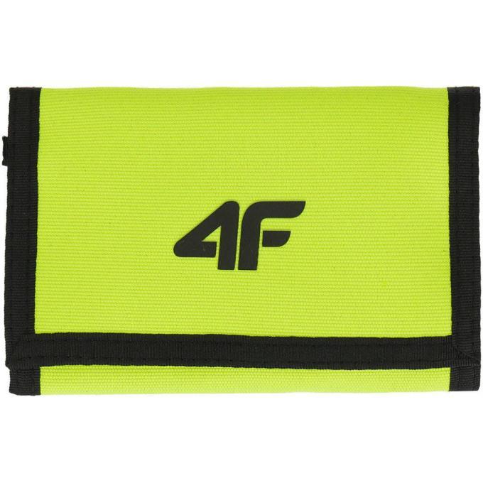 Porfel męski 4F żółty neon