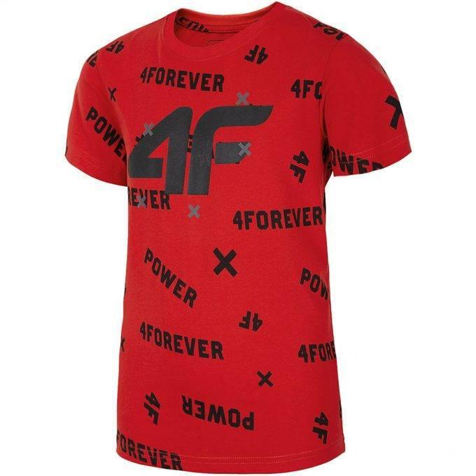 Juniorska koszulka 4F HJL20-JTSM001 62S