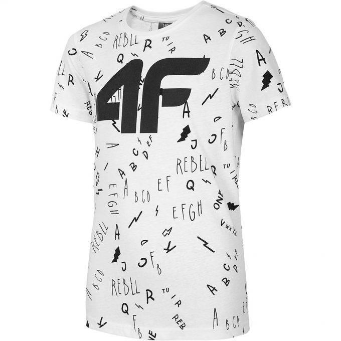 Chłopięca koszulka 4F HJL20-JTSM002 10S