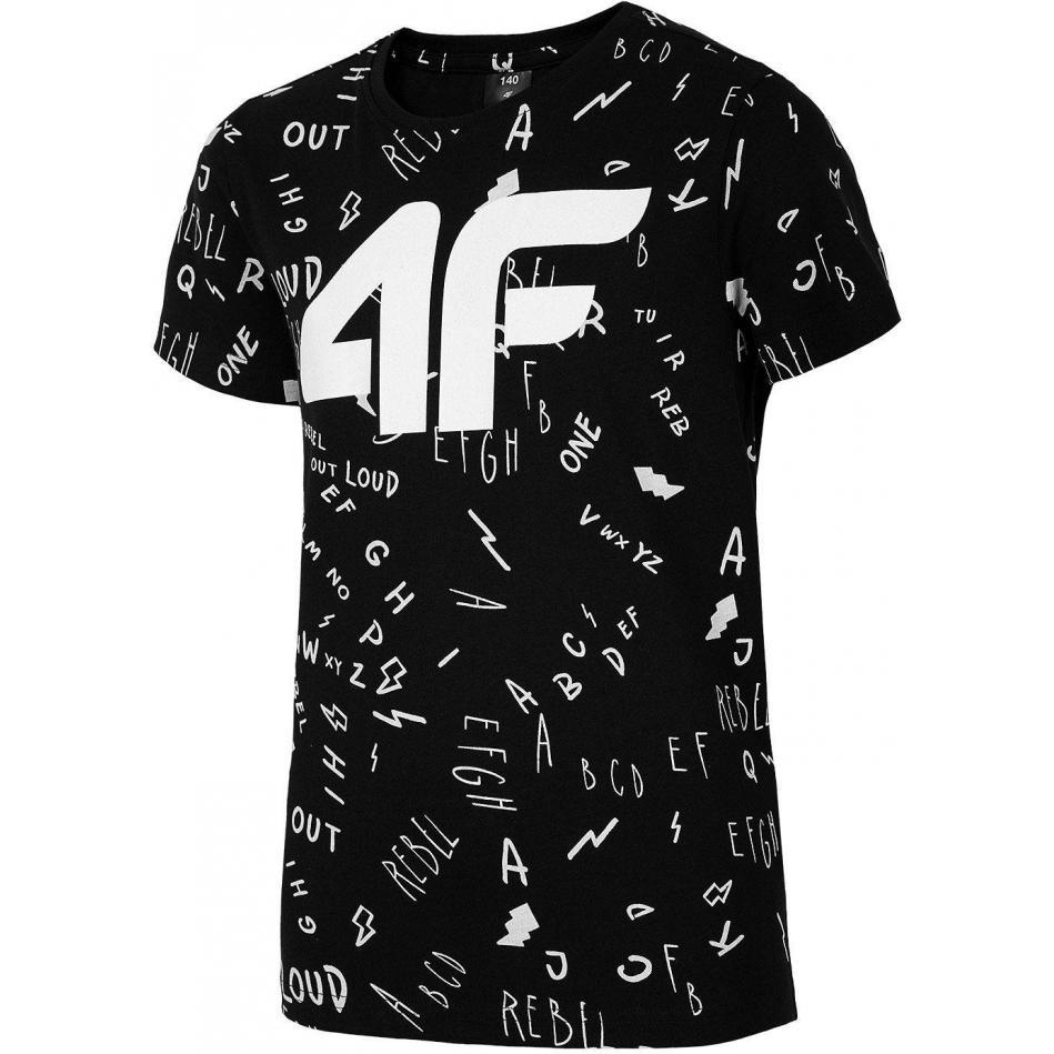 Juniorska koszulka 4F HJL20-JTSM002A 20S