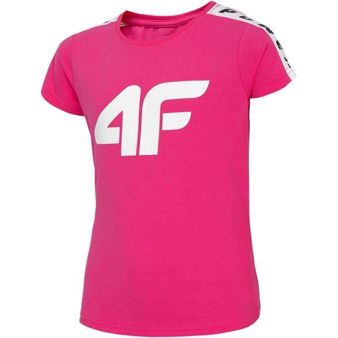 Dziewczęca koszulka 4F HJL20-JTSD004B