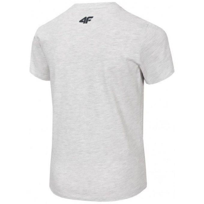 Juniorska koszulka 4F HJL20-JTSM021 25M