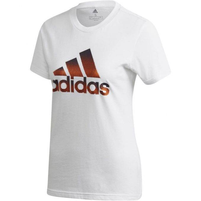 T-shirt damski adidas biały