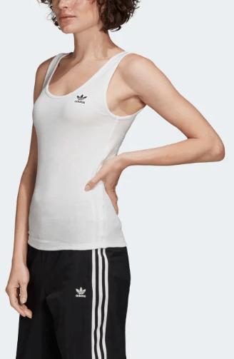 Damski Tank Top Adidas biały