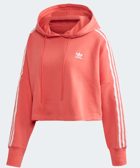 Damska Bluza Adidas koralowa